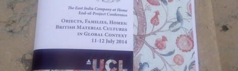 Objects, Families, Homes Conference – Final Session Recording