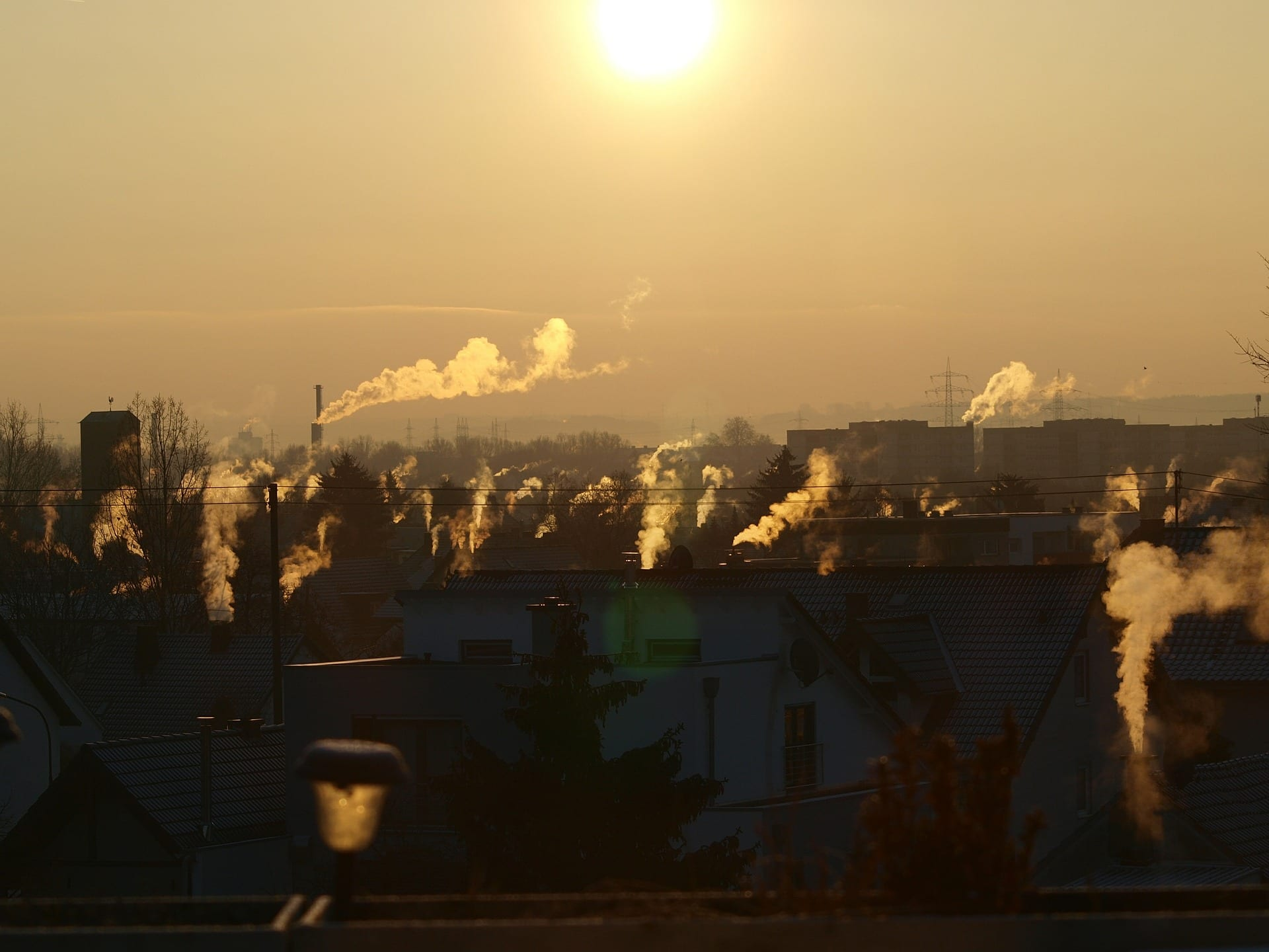 indoor air quality, homes, skyline