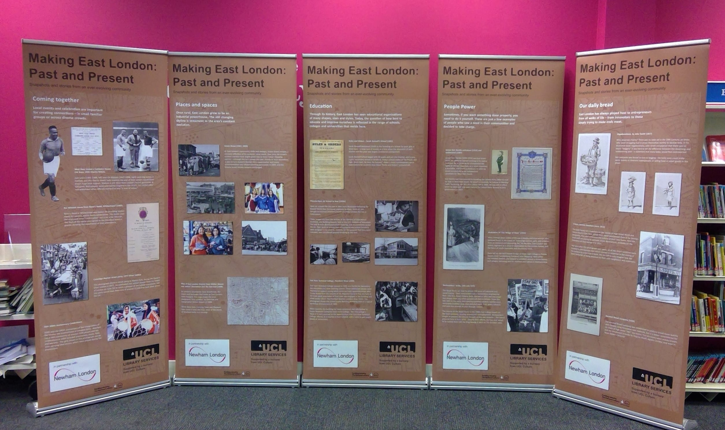 Newham libraries ucl libnet staff news for International collection