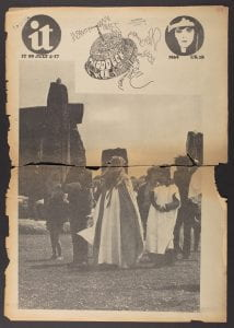 Cover, International Times no 59, 4-17 July 1969 (image courtesy of UCL Special Collections)
