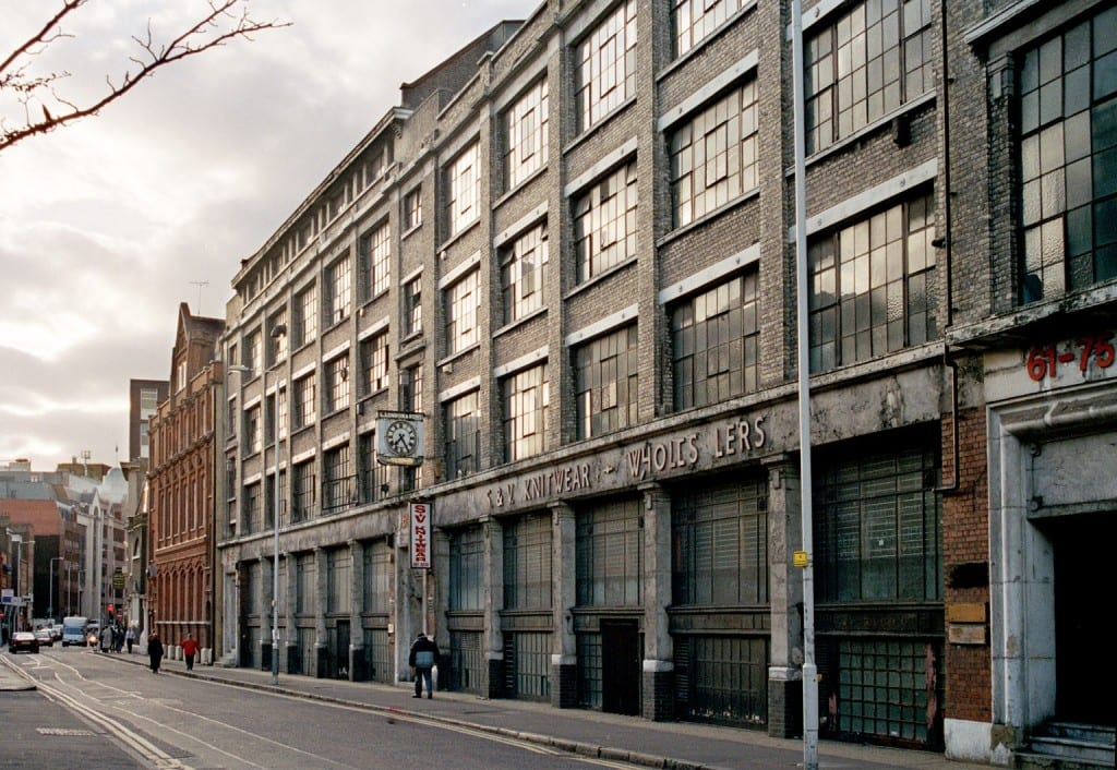 Alie Street in c.1999 (Chris Redgrave)