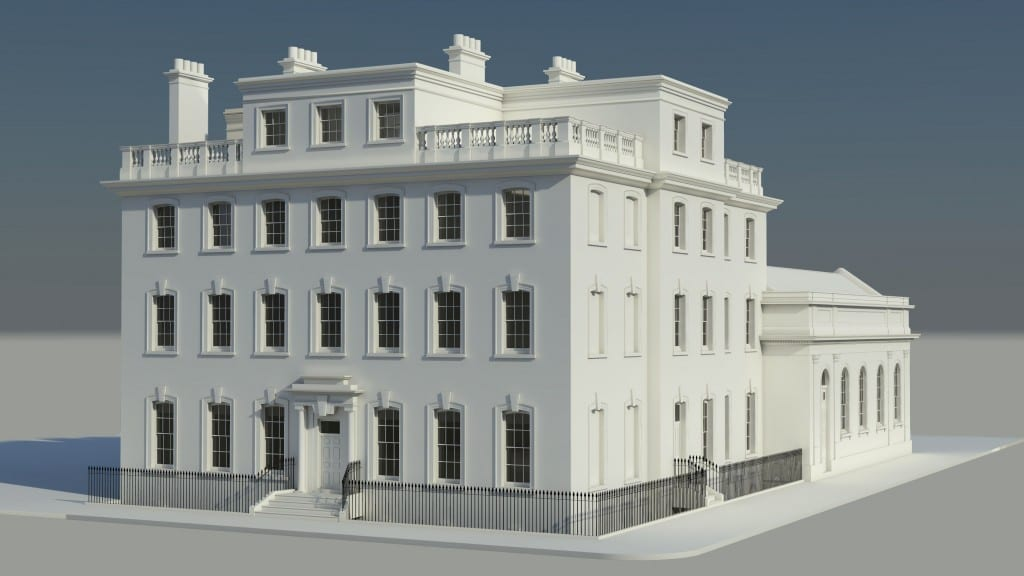 3D Reconstruction of Harcourt House