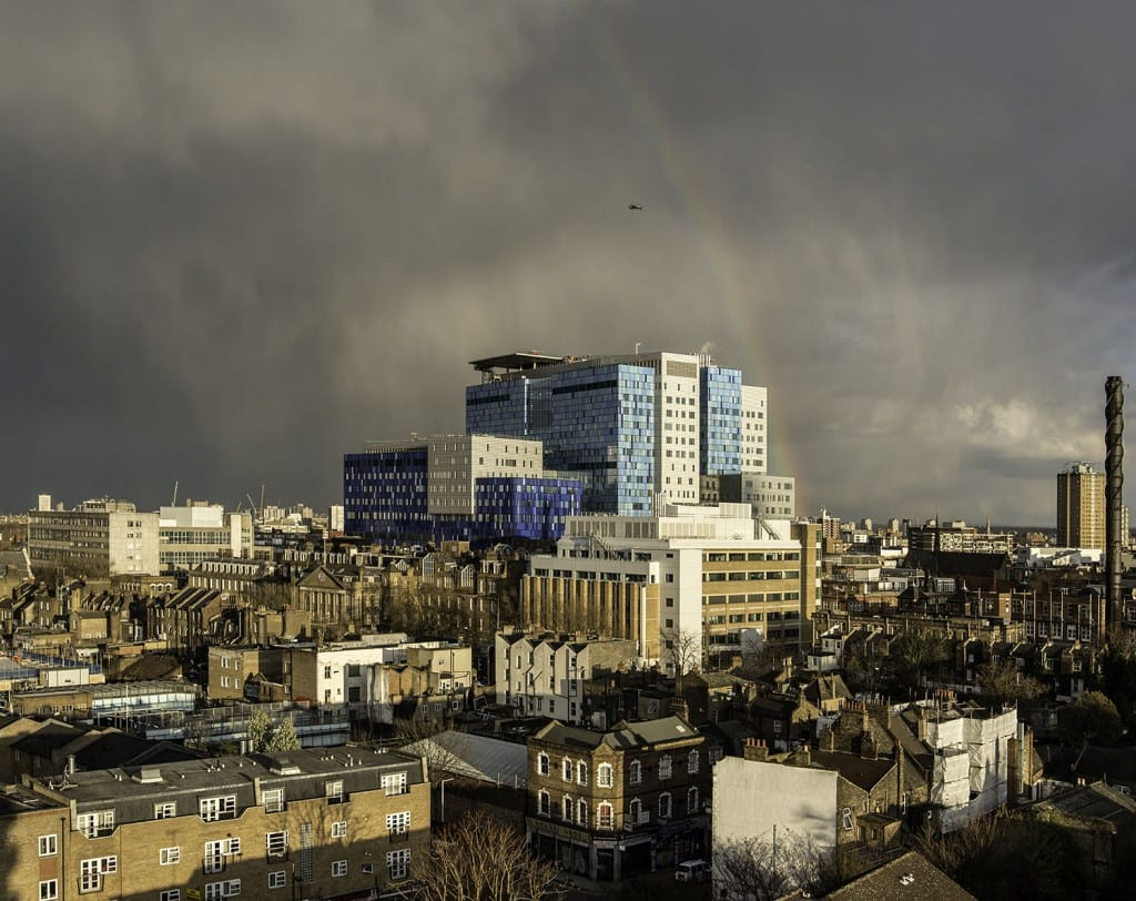 The Royal London Hospital from the north-west (© Chris Redgrave)