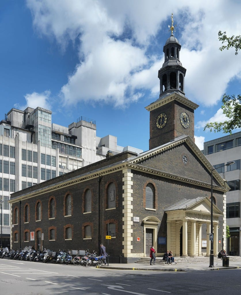 St Peter's, Vere Street from the north-west (© Historic England, Chris Redgrave)