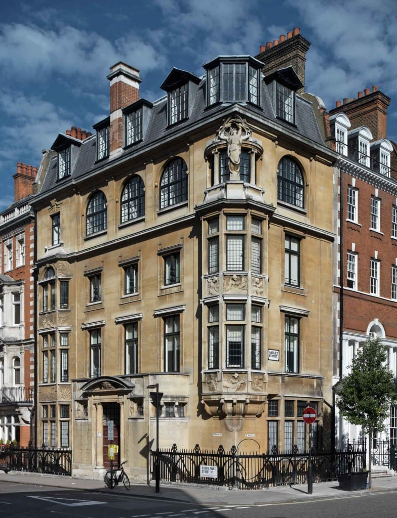Howard de Walden Project. Harley Street, Marylebone, Greater London.