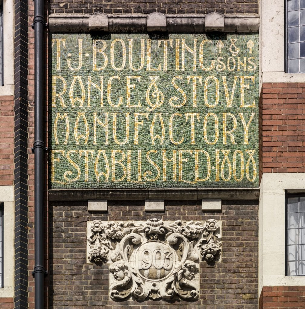 Detail of 59-61 Riding House street, Marylebone, Greater London. View from south. Taken for Survey of London.