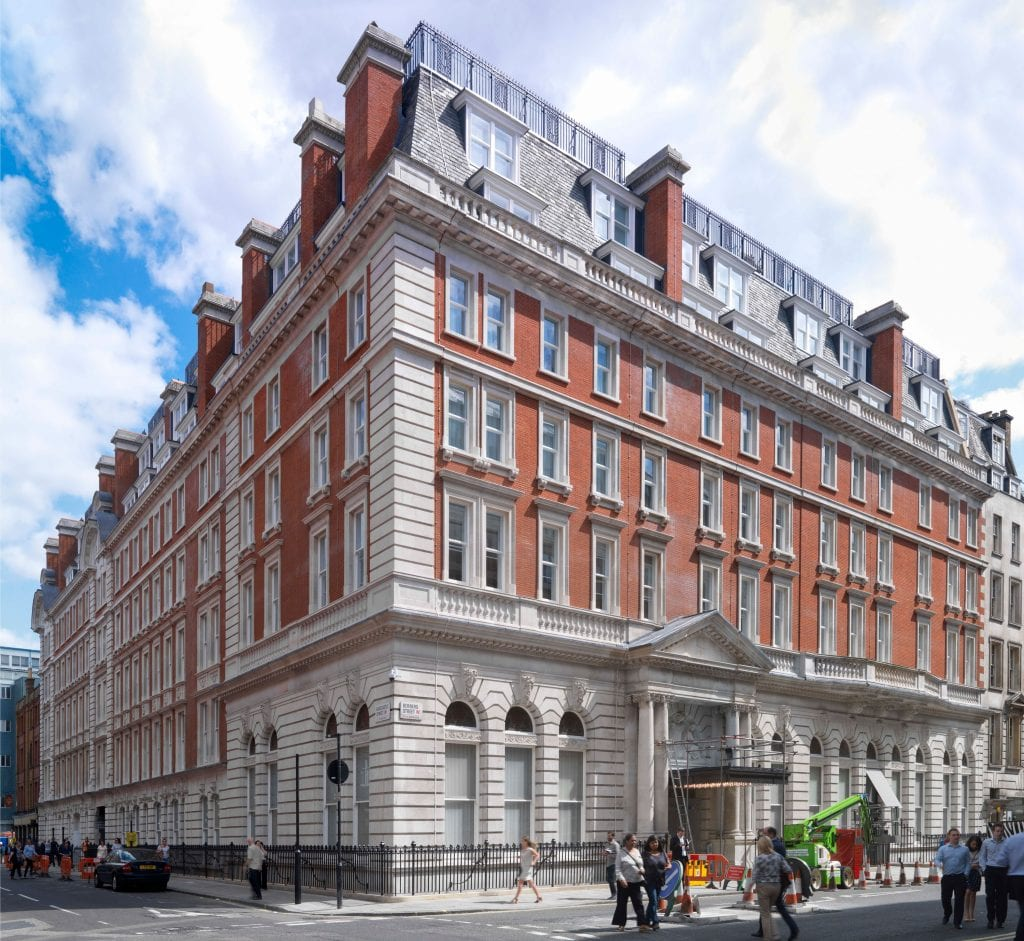 Berners Hotel. Photographed by Chris Redgrave for the Survey of London © Historic England