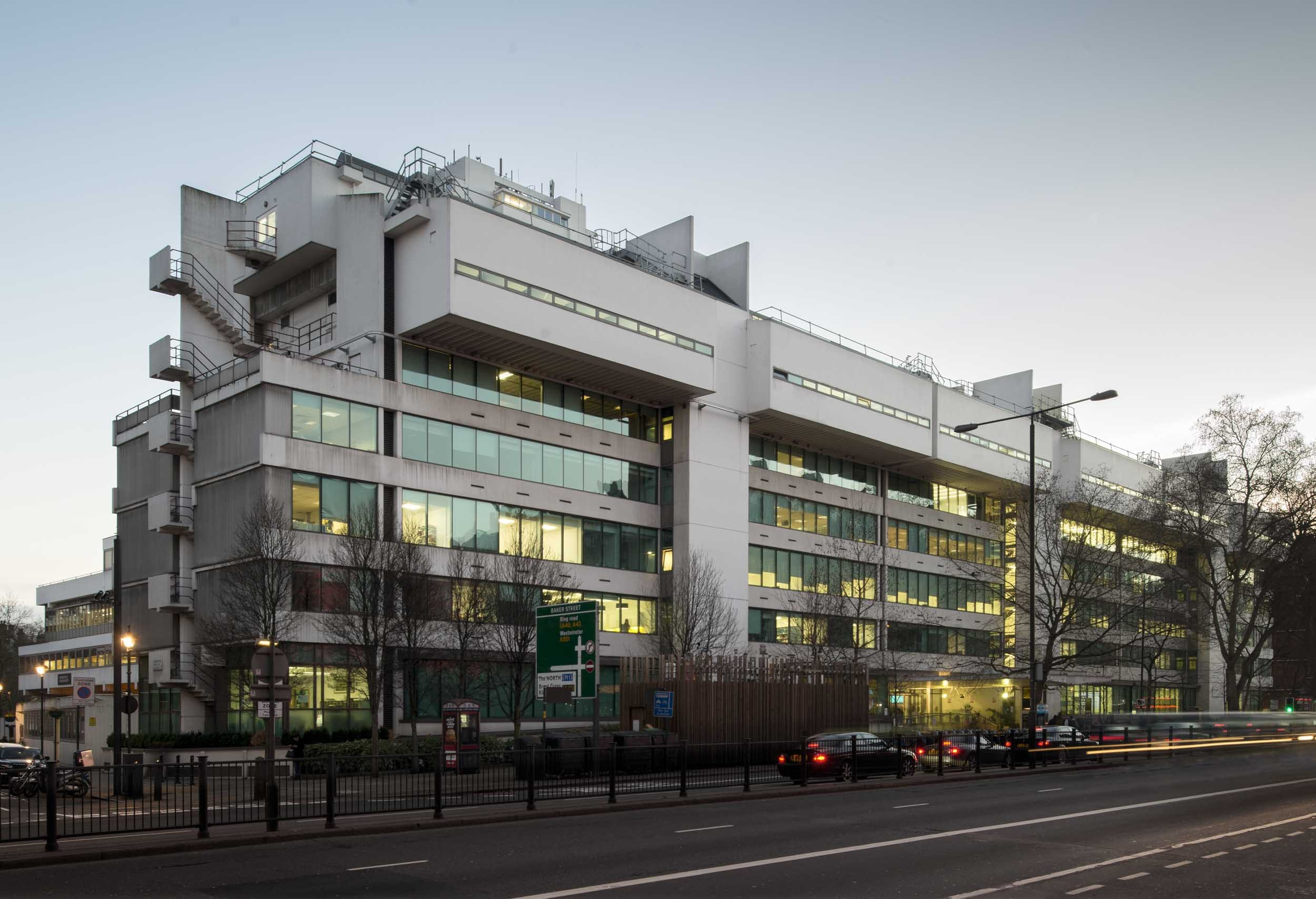 University of Westminster, Marylebone Road campus, 2014 (HEA photograph DP177601)