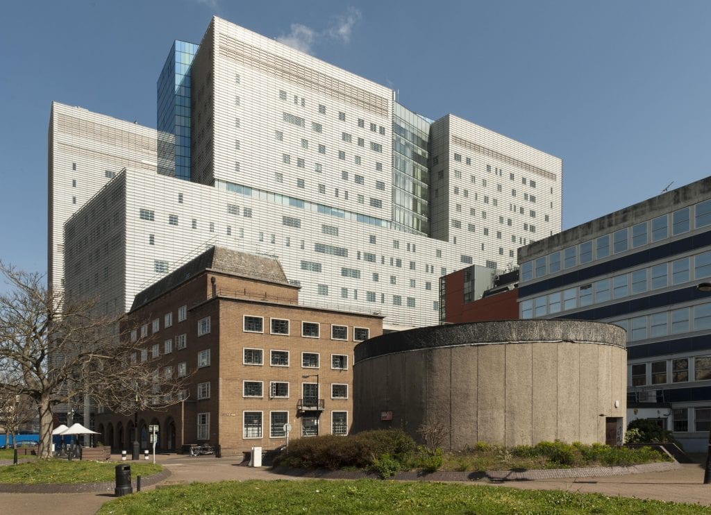 Survey of London - Whitechapel Volume London Hospital Students Hostel Philpot Street. View from south west.