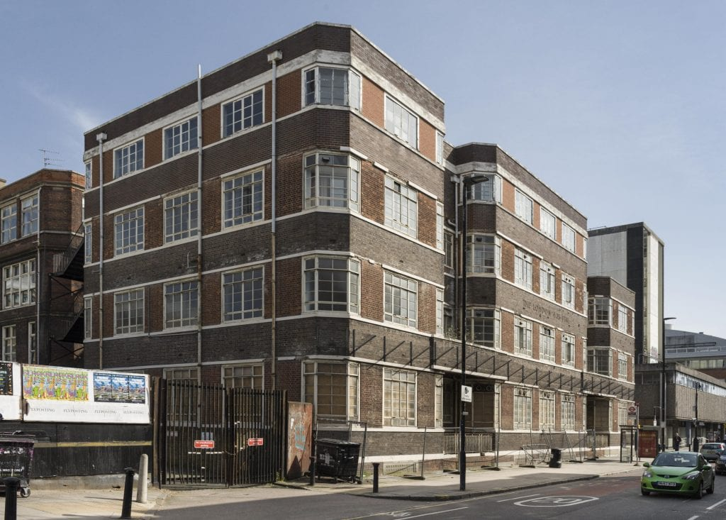 Survey of London - Whitechapel Volume Royal London Hospital Outpatients Annexe block. New Road, View from north west.
