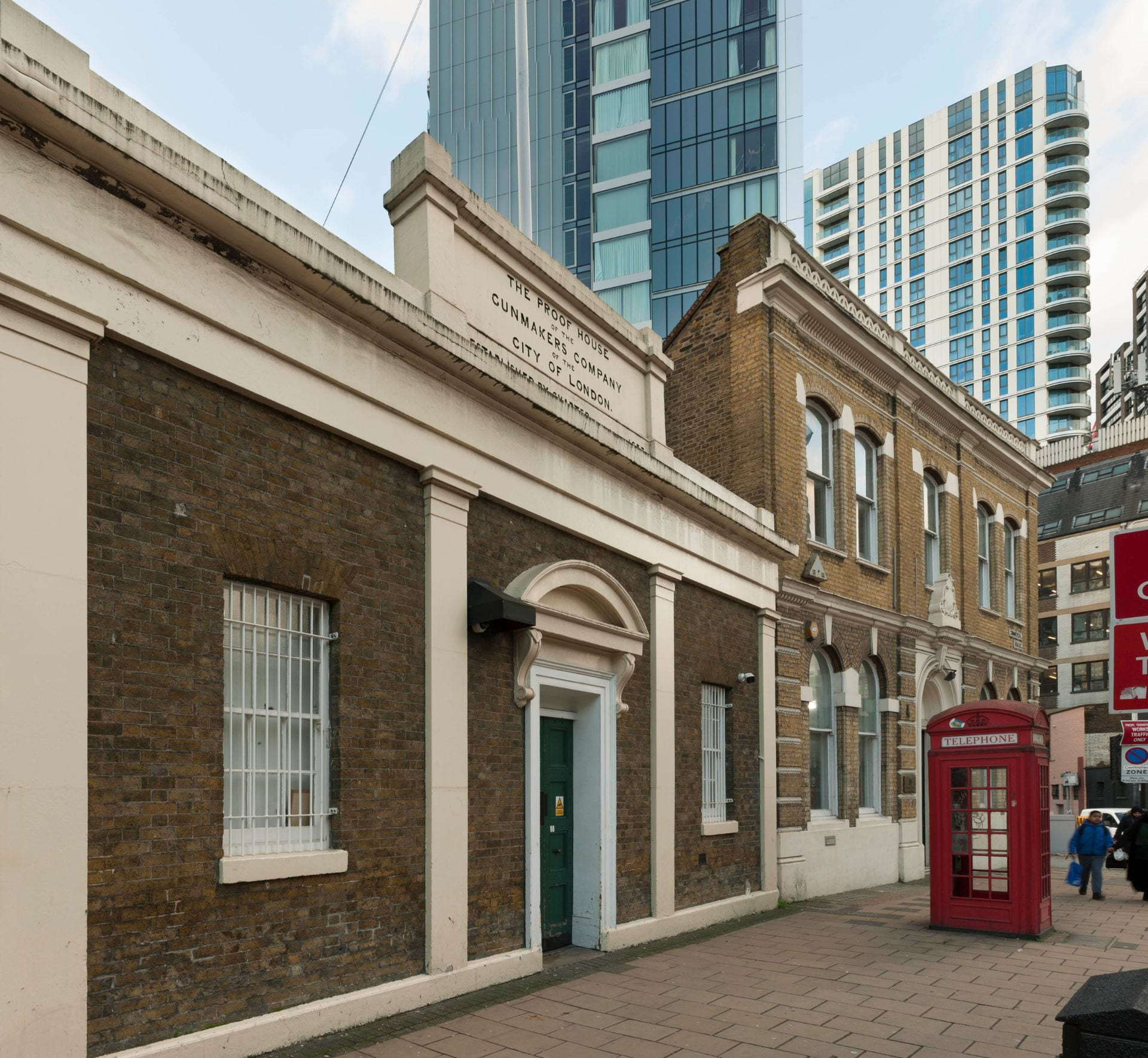 The Gunmakers' Company's Proof House complex, 46–50 Commercial Road, Whitechapel |  UCL The Survey of London
