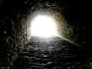 Light at the end of the tunnel image