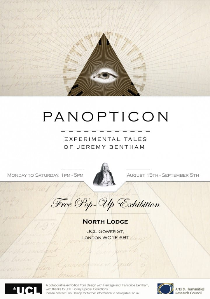 Panopticon exhibition poster