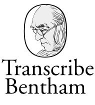 Transcribe Bentham logo