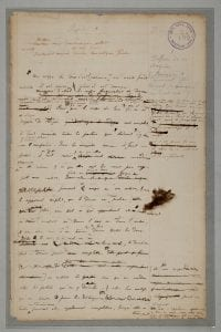 UCL Bentham Papers, Box xxxiii, fo. 109 (Image courtesy of UCL Special Collections).