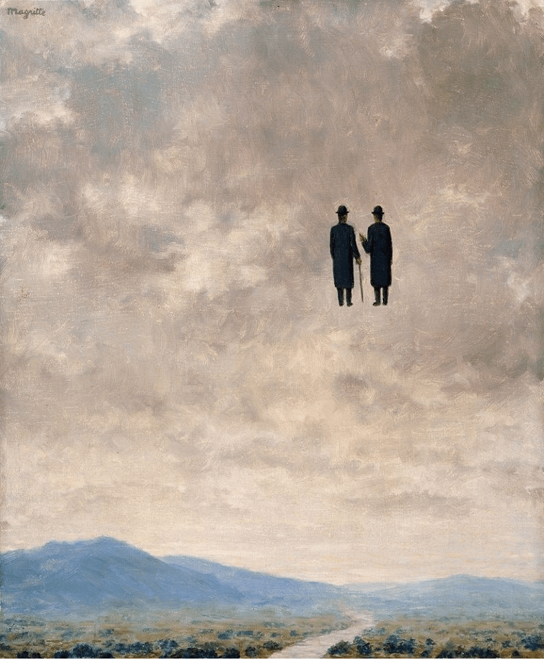 he Art of Conversation by René Magritte 1963
