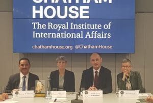Panellists at the Chatham House round-table on cultural heritage in Iraq