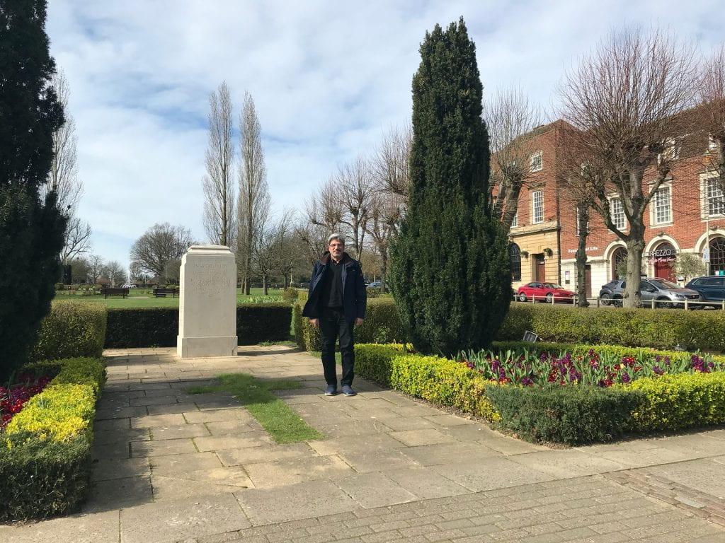 Dr Ali Naji in Letchworth Garden City, March 2020
