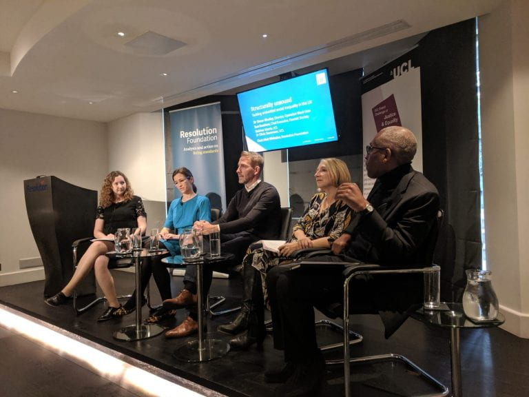 Panel at launch of Structurally Unsound