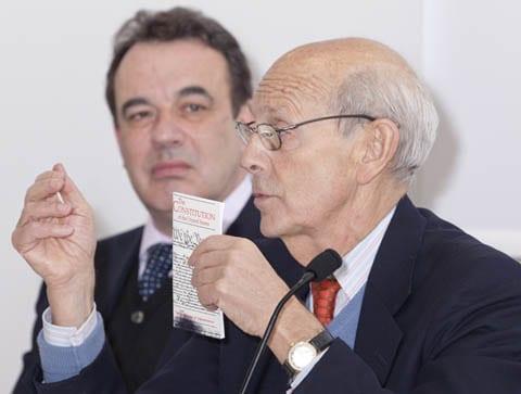 Justice Breyer and Professor John Lowry