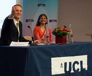 Professor Jayati Ghosh and Dr Richard Horton