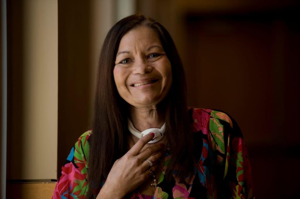Portrait of Brenda smiling