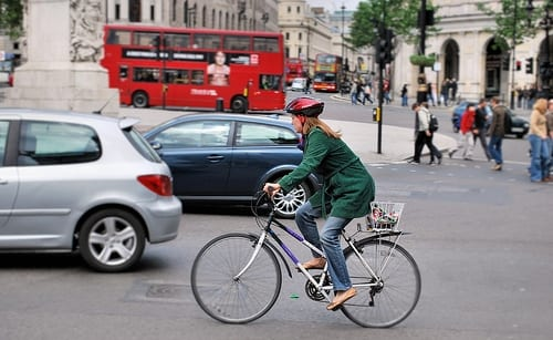Cyclist by Cyberslayer on Flickr