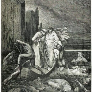 The Vision of Hell viii, iII. Gustave Doré (UCL Library Special Collections)