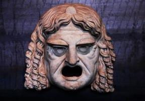 Greek theatrical mask