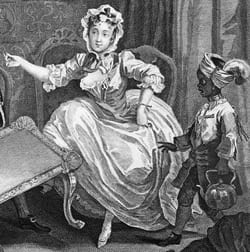 A Harlot's Progress, William Hogarth