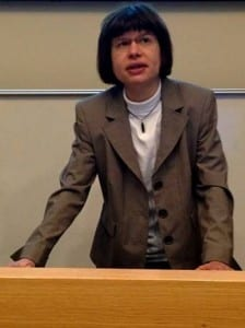 Professor Gesine Manuwald