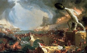 Thomas Cole, 'The Course of Empire – Destruction' (1836)