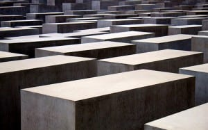 Holocaust memorial in Berlin Credit – http://www.flickr.com/photos/philippeamiot/