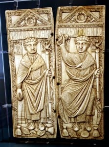 Ivory diptych of Boethius (late 5th century)