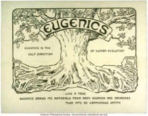 Eugenics tree, 1921