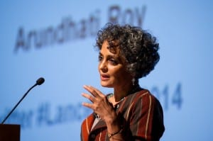 Arundhati Roy speaking at the 2014 Lancet Lecture