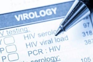 HIV virology testing form