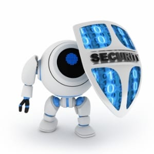 Cyber security robot