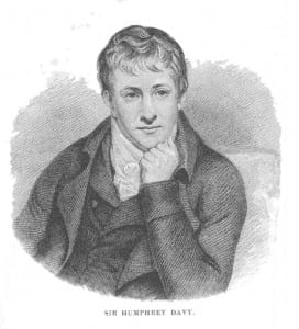 Humphry Davy. From: Sarah K. Bolton: Famous Men of Science. (New York, 1889)