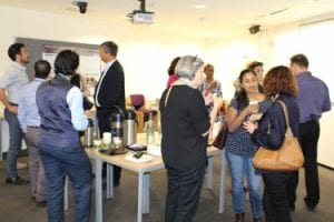 Academics and professional services staff network at UCL in the Middle East