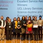 Award winning library staff