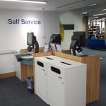 IOE Self-Service machine