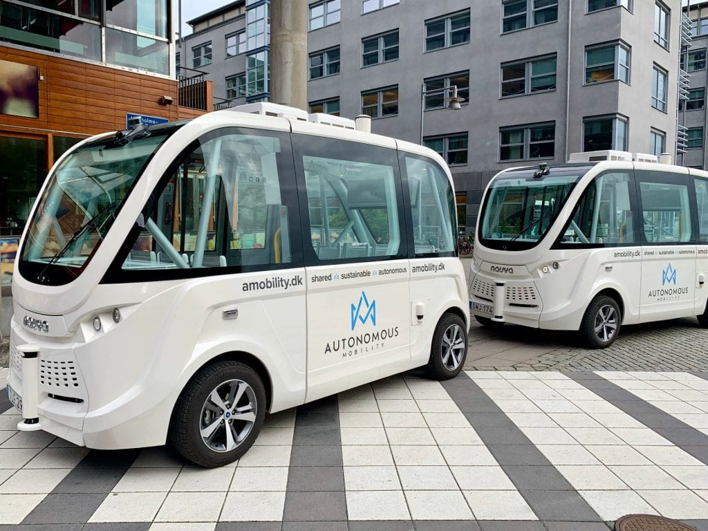 Shared, sustainable autonomous vehicles at Lindholmen Science Park, Gothenburg, Sweden (Kopp 2019)