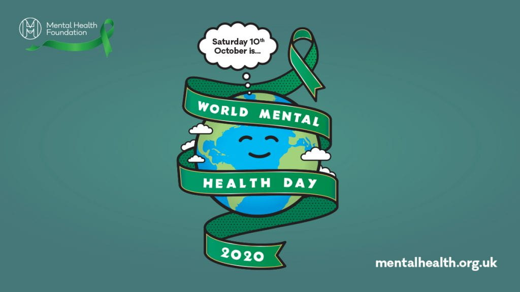 World Mental Health Day 2020 poster by Mental Health Foundation