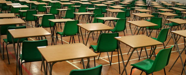 photo of exam hall