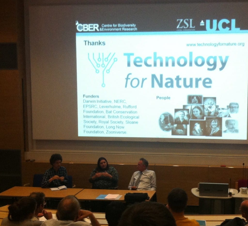 Technology for Nature Debate