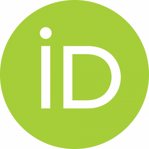Green circular ORCID iD logo