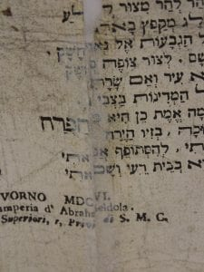 Poem before conservation (close-up)