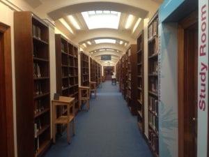Jewish Studies corridor