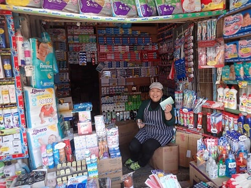 Trader of household goods Narantuul
